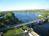 Река Нарова Граница Эстония - Россия