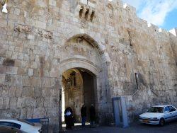 Львиные ворота - начало Скорбного пути