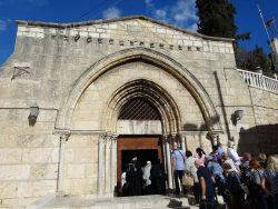 Церковь Успения Пресвятой Богородицы – пещерный храм в Гефсимании