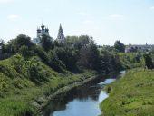 Суздаль на реке Каменке