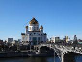 Maskava. Kristus Glābēja katedrāle.