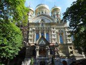 Karosta. Svētā Nikolaja pareizticīgo Jūras katedrāle.
