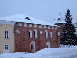 Новгородский Кремль - Владычная (Грановитая) палата - 15 век