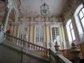 Парадная лестница Рундальского дворца