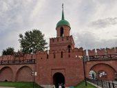Тульский Кремль Башня Одоевских ворот