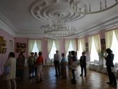 В Парадном зале дворца