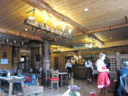 В ресторане Юрьевского подворья..
