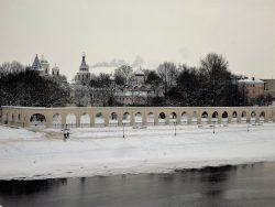 Великий Новгород Вид на Ярославово дворище