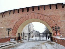 Вход в Новгородский Кремль