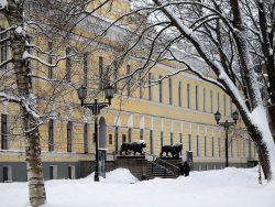 Здание Присутственных мест - ныне Новгородский музей