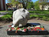 Лачплесис Фрагмент памятника Скульптор Карлис Янсон