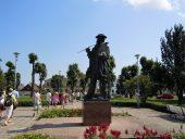 Памятник художнику Иоганну Кёлеру