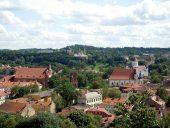 Панорама Старого Вильнюса