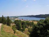 Вид с замкового холма на озеро Вильянди
