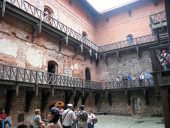 Внутренний двор Тракайского замка
