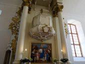 Алтарь Лиепупской церкви
