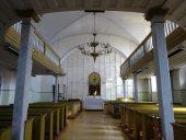 Интерьер лютеранской церкви