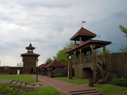 Мозырь Деревянный замок на холме