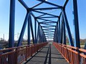 Пешеходный мост через Гаую