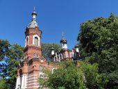 Православная Преображенская церковь в Лимбажи