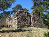 Руины первой Лиепупской церкви