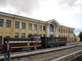 Вокзал в Гулбене