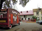 Кукольный театр и театральный вагончик