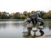 Старое русло Сенваге - городской парк