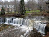 Водопад Кейла Вид с обрыва