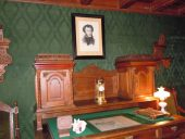 Кабинет в доме Пушкиных