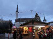 Праздничная торговля на Ратушной площади