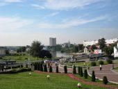 Минск Панорама реки Свислочь