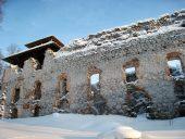 Руины Раунского замка