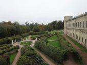 Вид на Собственный садик из Гатчинского дворца