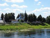 Орша Вид на Днепр и Свято-Успенский монастырь