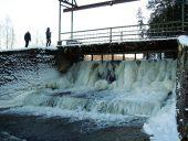 Водопад на реке Вайде