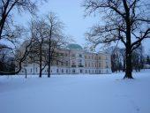 Дворец Межотне Парковый фасад
