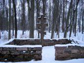Парк Межотне Могила времен 1 мировой войны