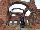 Разрушенная православная церковь
