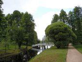 В парке Михайловского