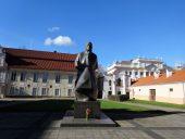 Памятник поэту и епископу Майронису