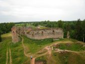 Руины замка Вастселиина