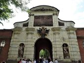 Ворота Петропавловской крепости