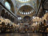Интерьер Морского Николаевского собора