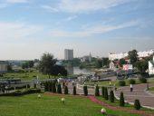 Панорама реки Свислочь