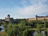 Замки Нарвы и Ивангорода
