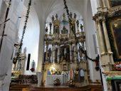 Алтарь в Благовещенском костеле