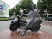 Оригинальный памятник в Клайпеде