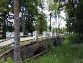 Мостик в парке Астравас