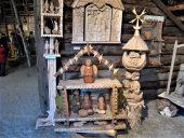 Выставка деревянной скульптуры